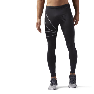 Tights para Running BLACK/REFLECTIVE SILVER CF8797