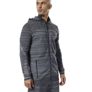 One Series Training Control Hoodie Dark Grey Heather DY8015