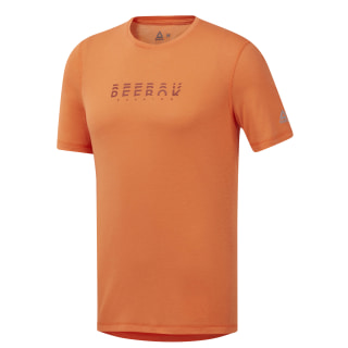 Running Essentials Tee Fiery Orange EC2548