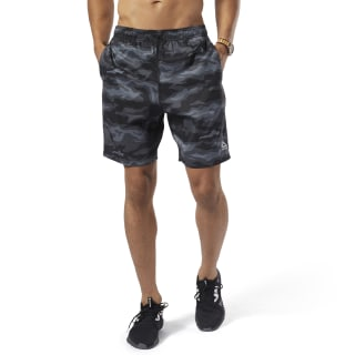 Спортивные шорты WOR COMM GRAPHIC SHORT black ED2716