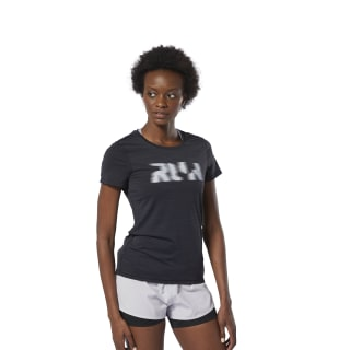 T-shirt Running ACTIVCHILL Black DU4244