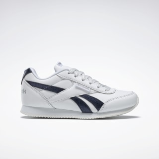 Reebok Royal Classic Jogger 2.0 Shoes White / Navy / Silvermetallic DV9024