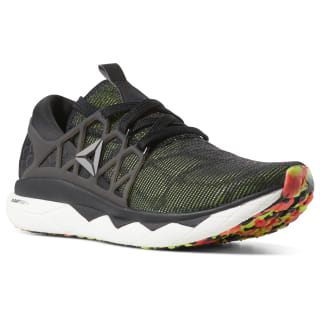 Reebok Floatride Run Flexweave Black / Lime / Grey / Red DV3964