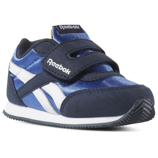 Reebok Royal Classic Jogger 2.0 KC - Enfant Collegiate Navy / Coll Royal / Trek Gold / White DV4045