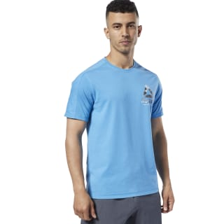 T-shirt de training One Series Speedwick Cyan EC1029
