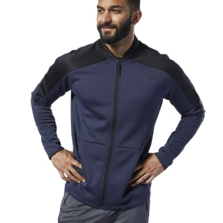 One Series Training Spacer Track Jacket Heritage Navy DY8016