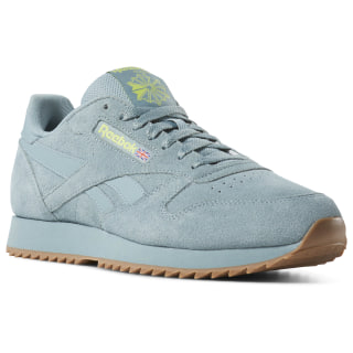Classic Leather Montana Cans Teal Fog / Neon Lime DV3934
