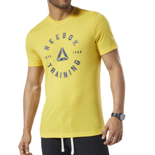 GS Training Speedwick Tee Toxic Yellow EC2044