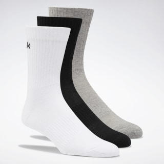 Носки Active Foundation Mid-Crew, 3 пары Multicolor/white/black/medium grey heather FQ5325