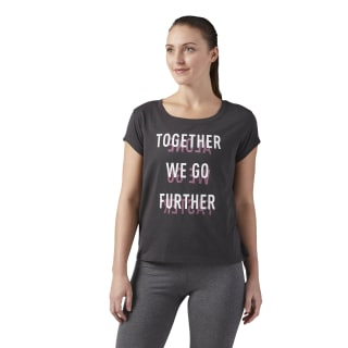 Further Together Graphic T-Shirt Coal CF4462