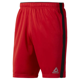Knit Performance Short Primal Red CE3900