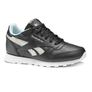 Classic Leather Ss-Black/Dreamy Blue/Tin Grey/Wht DV3615
