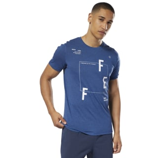 Reebok CrossFit MOVE Tee Bunker Blue D94892