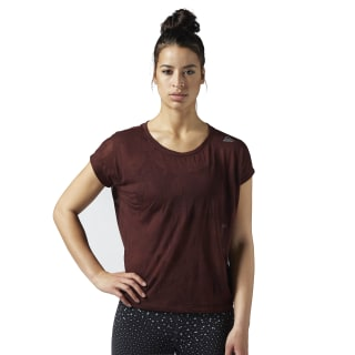T-shirt Burnout Burnt Sienna BQ9680