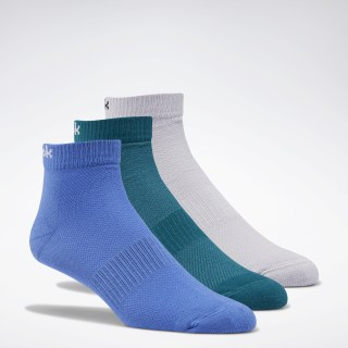 Носки Active Foundation Ankle, 3 пары Multicolor/blue blast/heritage teal/sterling grey FQ5322