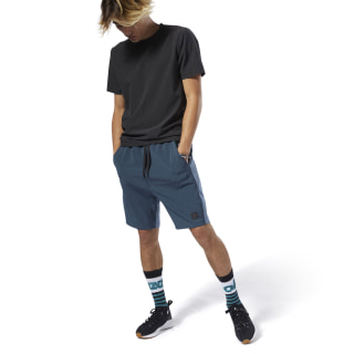 Training Supply Knit-Woven Shorts Blue Hills DP6121