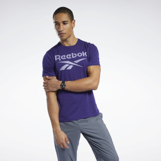Graphic Series Reebok Stacked Tee Mystic Orchid FP9142