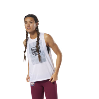 Reebok CrossFit Tank - Games White DN2416