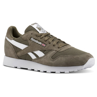 Classic Leather Estl-Terrain Grey / White CN5018