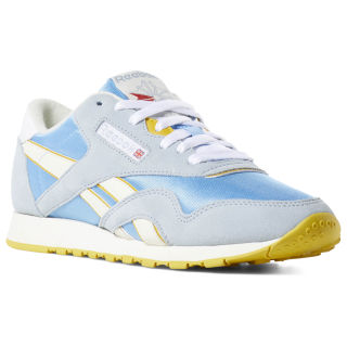 Classic Nylon Archive Women's Shoes Sky Blue / Gable Grey / Urban Yellow / Wht DV3926