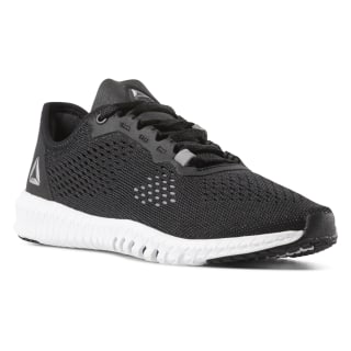 Zapatillas Reebok Flexagon Black / White / Pure Silver CN2407