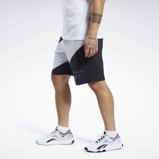 Pantalón corto Workout Ready Graphic Black / Black FS6105
