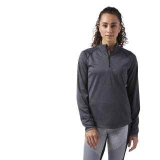 Sport Essentials Quarter Zip Black CF5691