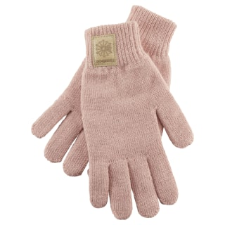 Classics Foundation Label Gloves Chalk Pink DH3550