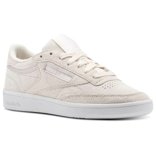 Reebok Club C 85 Trim Nubuck Pale Pink / White / Powder Grey BS9609