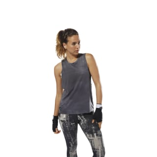 Combat Spray Dye Tanktop Flat Grey D95999