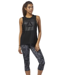 GS Shine Delta Muscle Tank Black DH3797