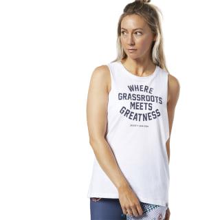 Reebok CrossFit® Open Muscle Tee White FP9334