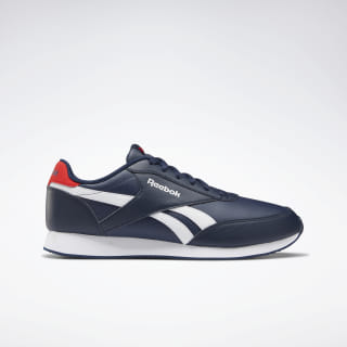 Reebok Royal Classic Leather Joggers Collegiate Navy / White / Primal Red EG1586