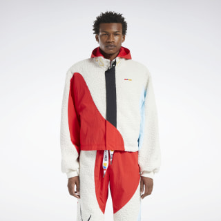 Reebok by Pyer Moss Windbreaker Primal Red FN2526
