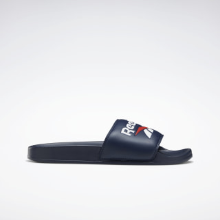 Reebok Classic Slides Collegiate Navy / White / Radiant Red EH0416