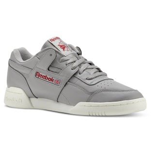 Workout Plus Vintage-Mgh Solid Grey/Power Red CN4967