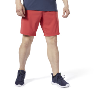 WOR Woven Shorts Rebel Red EC0903