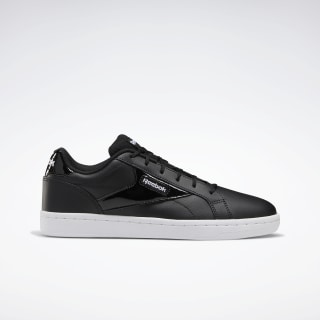 Reebok Royal Complete Clean LX Shoes Black / White / White EF7485