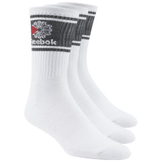 Reebok Crew Cut Socks - 3 Pack White CJ9460
