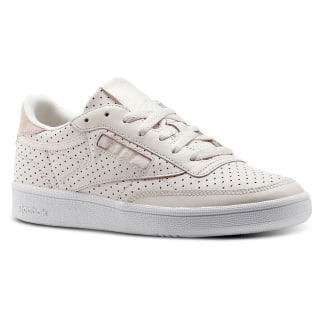 Reebok Club C 85 Popped Perf Pale Pink / Chalk Pink / White CM9279
