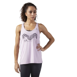 Camiseta sin mangas ACTIVCHILL Cooling Pink/Moonglow CE4520