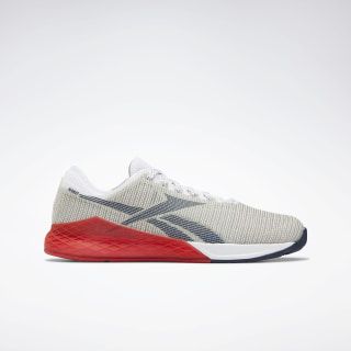 Reebok Nano 9 Men's Training Shoes White / Primal Red / Collegiate Navy EG3307
