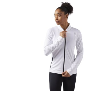 Speedwick Track Jacket White CF5885