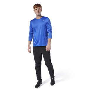 Run Essentials Tee Crushed Cobalt DP6746
