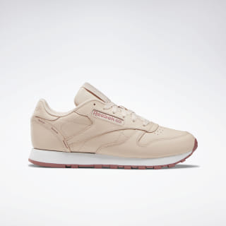Classic Leather Shoes Buff / Rose Dust / White DV7100