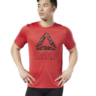 Camiseta Reebok Graphic Rebel Red DY8300