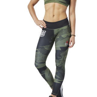 Reebok CrossFit® Lux Tights Canopy Green EC1432