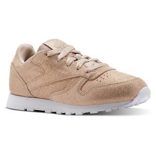 Tenis CLASSIC LEATHER MS-ROSE GOLD/BARE BEIGE/WHITE CN5589
