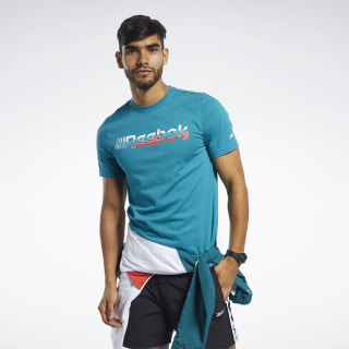 Meet You There T-shirt Seaport Teal FJ4691