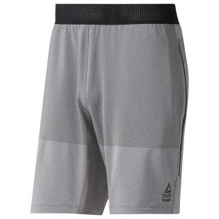Reebok CrossFit® MyoKnit Shorts Medium Grey Heather / Ash Grey DU5081